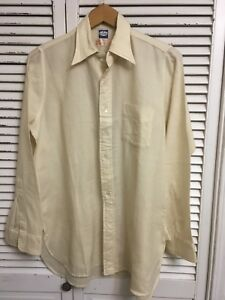 Vintage Rare 1950 60 S Archie Brown Bermuda Dress Shirt Uk Men S 14