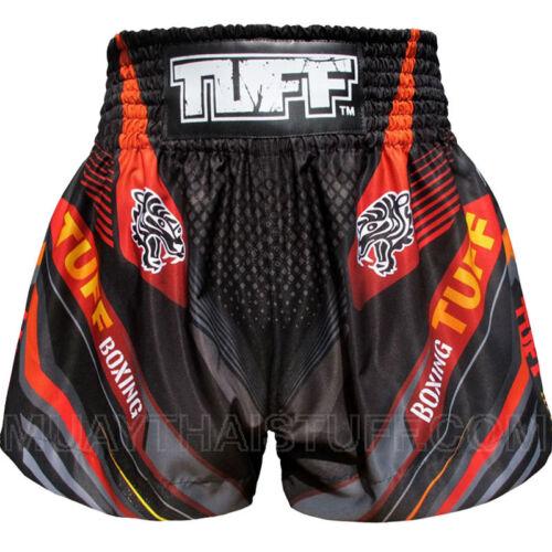 TUFF Muay Thai Kick Boxing Shorts MS6 Black Blue Pink Red White Yellow Training
