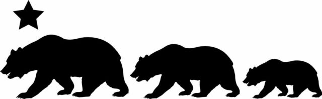 bear family silhouette snap daddy bear svg file bear silhouette