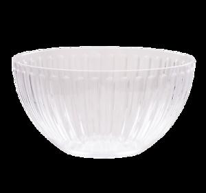 2-x-Wham-Roma-Small-Salad-Bowl-Clear-Large-Acrylic-Bowl-20580