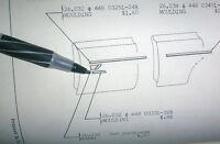 1963 Amc Rambler Classic 660 Door Trim End Piece Lh