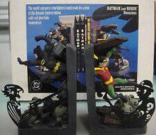 DC COMICS BATMAN & ROBIN BOOKENDS/STATUE MIB!! PAQUET MAQUETTE Joker not BOWEN