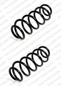 2 pieces front coil spings audi 6 cylinder a4 a4 quattro a6 vw