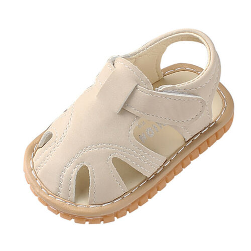 Newborn Baby Girls Boys Summer Roman Shoes Sandals First Walkers Soft Sole Shoes