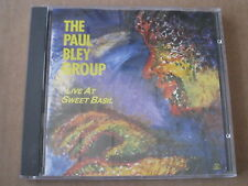 THA PAUL BLEY GROUP LIVE AT SWEET BASIL SOUL NOTE CD ITALY