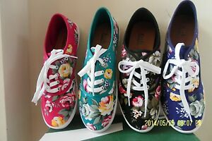NEW Women Girl Teens STYLISH Floral Tennis Shoes Fall Spring ...