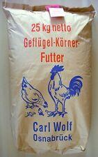 Geflügelkörnerfutter 25kg Hühnerfutter, Nutzgeflügel, Legehennen, Körnerfutter