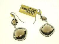 Tacori Ss/18k Gold Color Medley Collection Earring W/quartz Se118y17 Ret. $460