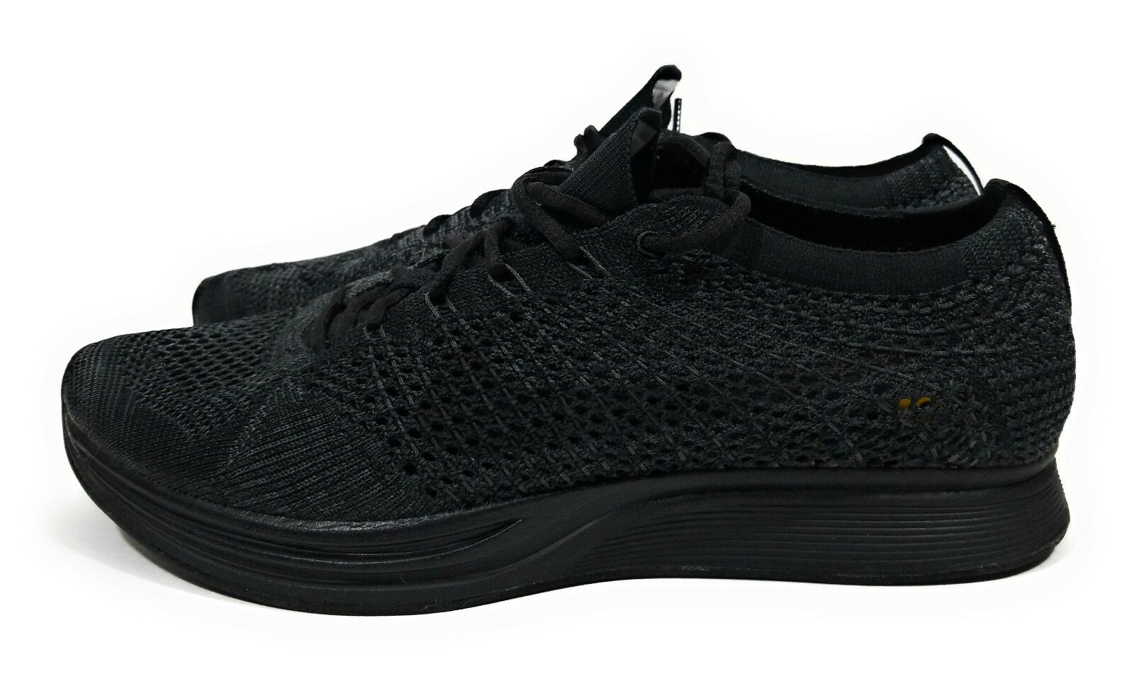 Nike Flyknit Racer Running shoes Black Anthracite Anthracite Anthracite Mens Size 7 Womens Size 8.5 11e601