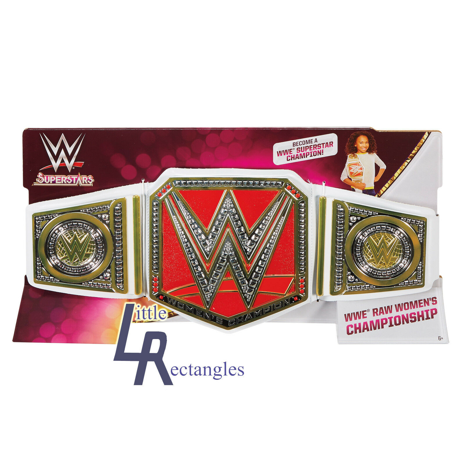 WWE - Mattel - WWE RAW Womans Belt - Brand New