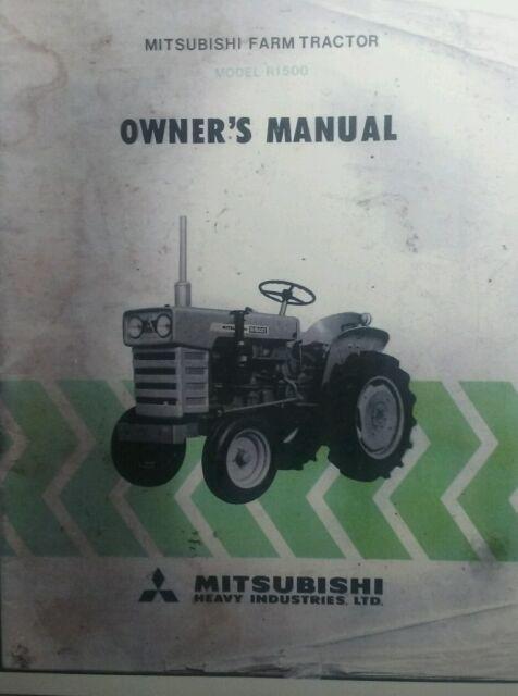 Mitsubishi Tractor Parts Manual ✓ Mitsubishi Car