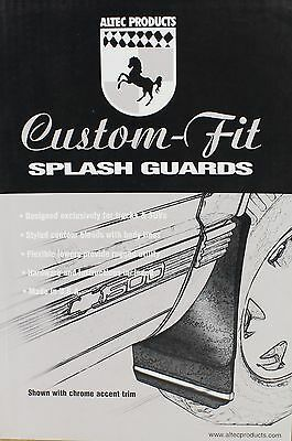 New 1988-1998 Chevy-GMC 1500 Custom Fit Front Mud Flaps Splash Guards USA Made