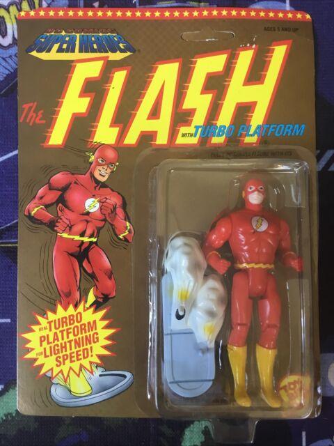 Toy Biz DC Comics Super Heroes THE FLASH Vintage Action Figure MOC