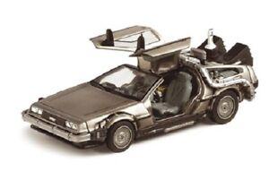 Zurueck-in-die-Zukunft-II-Diecast-Modell-1-43-DMC-DeLorean-NEU-amp-OVP
