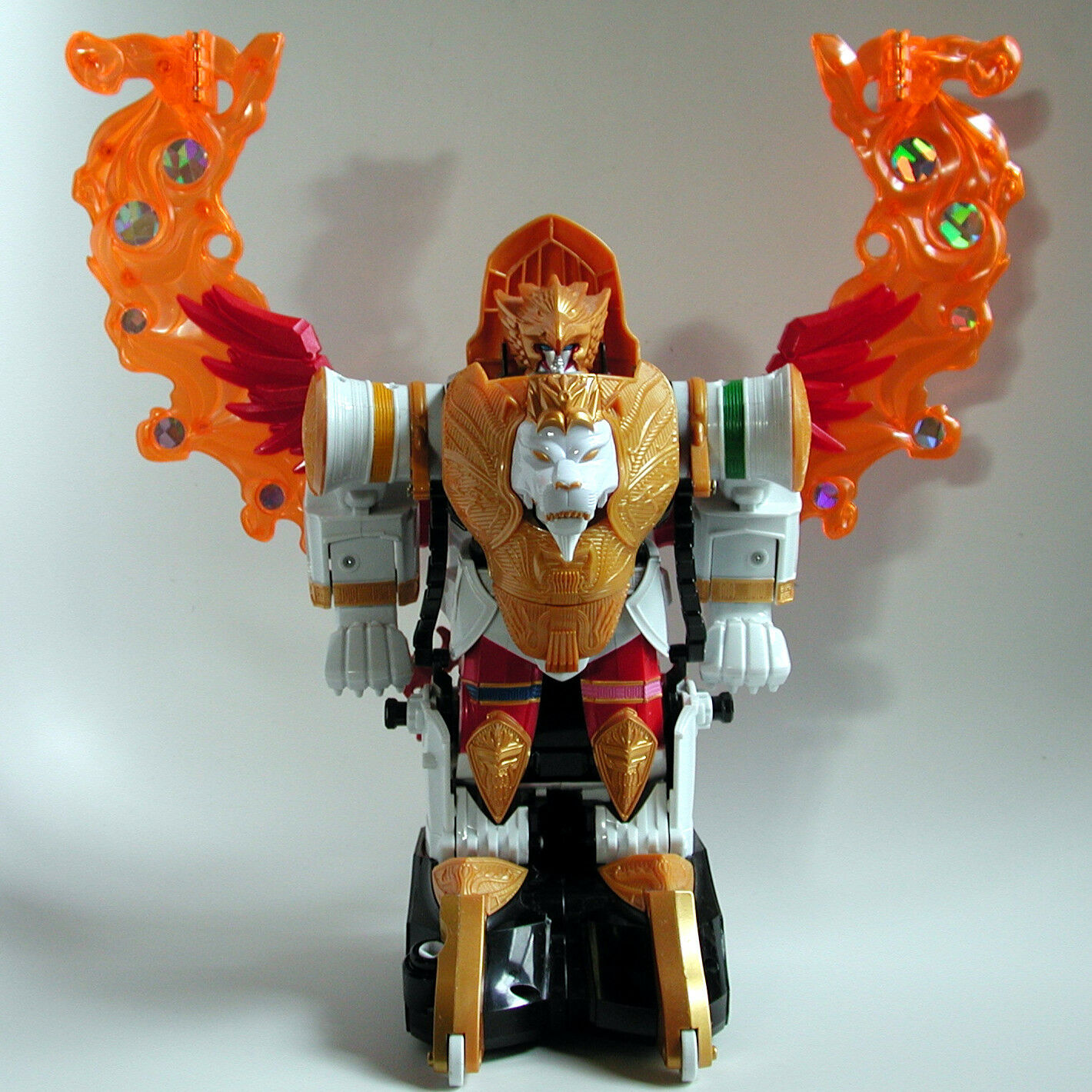 RARE 2006 Power Rangers Mystic Force Manticore Deluxe Megazord zord