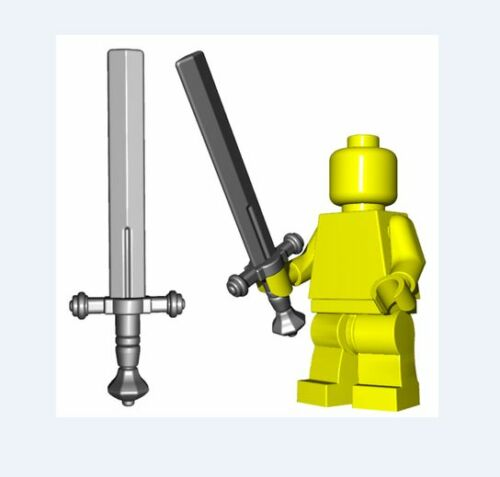 Executioners sword for Lego minifigures accessories