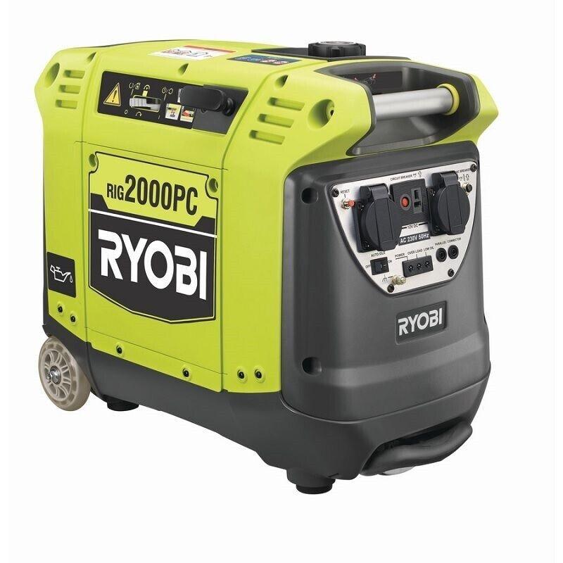 Generator RIG2000PC 2000W benzin, Ryobi