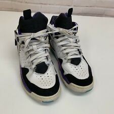 bfcd4ac36342ad CONVERSE AERO JAM MID 244261C Hornets Larry Johnson Shoes Size 6.5 Kids 39  EUR
