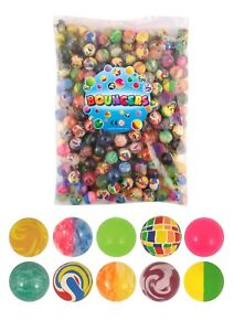 BOUNCY-BALLS-Party-Loot-Bag-Fillers-Childrens-Birthday-Wedding-Toy-Fun-Prize