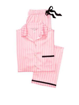 taglia 40 nuovo stile di vita nuovo autentico Victoria Secret Satin Afterhours Signature Pajama Set Iconic ...