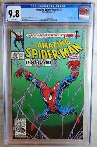 Amazing Spider-Man #373 Venom Backup Story Marvel 1993 CGC 9.8 NM/MT Comic P0023