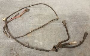 details about 87 93 ford mustang gt 5 0 manual t5 transmission wiring harness oem 1990 Ford Mustang 5.0 Engine Harness