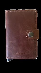 Secrid New Miniwallet Original - Vintage Brown