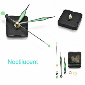 Movement-Mechanism-Wall-Clock-Silent-Quartz-Noctilucent-DIY-Replacement-Tool-New