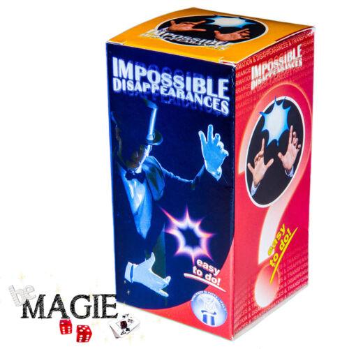 foulard Impossible disappearances Tour de magie Disparition Impossible