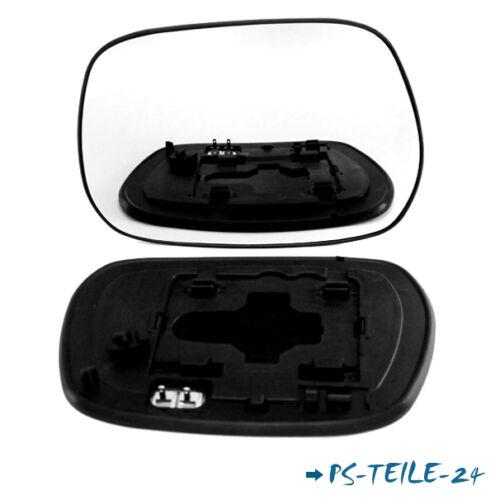 Spiegelglas für TOYOTA RAV 4 II 2000-2005  links sphärisch fahrerseite