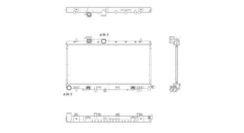 Radiator-Assembly TYC 13051 fits 02-07 Subaru Impreza