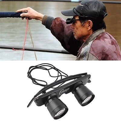 3in1 3X28 Binoculars Telescope Glasses Outdoor Fishing Game Watching Tackle OV