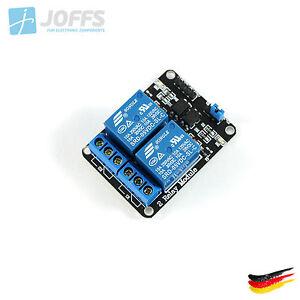 2-Kanal-5V-Relais-Modul-mit-Optokoppler-fuer-u-a-Arduino-2Ch-Active-Low