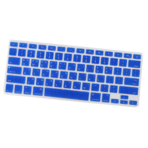more photos 73008 b6321 Details about Korean Rubber Keyboard Protector Cover for MacBook Pro  13/15'' Blue