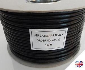 Qualifié Externe Cat5e Usage Extérieur Solide Cuivre Câble Réseau Ethernet Bobine Utp 100 M-afficher Le Titre D'origine