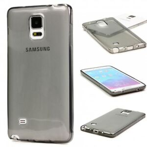 Urcover-Samsung-Galaxy-Note-4-Housse-De-Protection-Soft-Silicone-Case-Cover-Sac-Clear