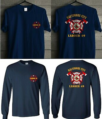 NEW Baltimore City Fire Department fire fighter Men/'s T-Shirt Tee