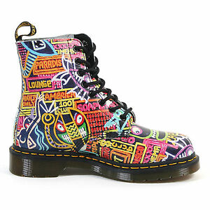 Image is loading Dr-Doc-Martens-Pascal-Wigan-Kaboom-Multi-Color-