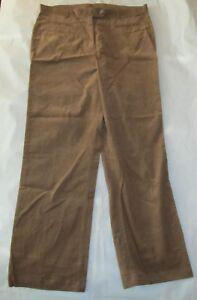 b366cf9efeae5 Lands End Womens Corduroy Pants French Walnut Brown Size 16 Fit 3 ...