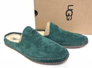 67f0c536180 Details about UGG Australia Tamara Highland Green Moccasin Slipper Suede  shoes slip 1019249