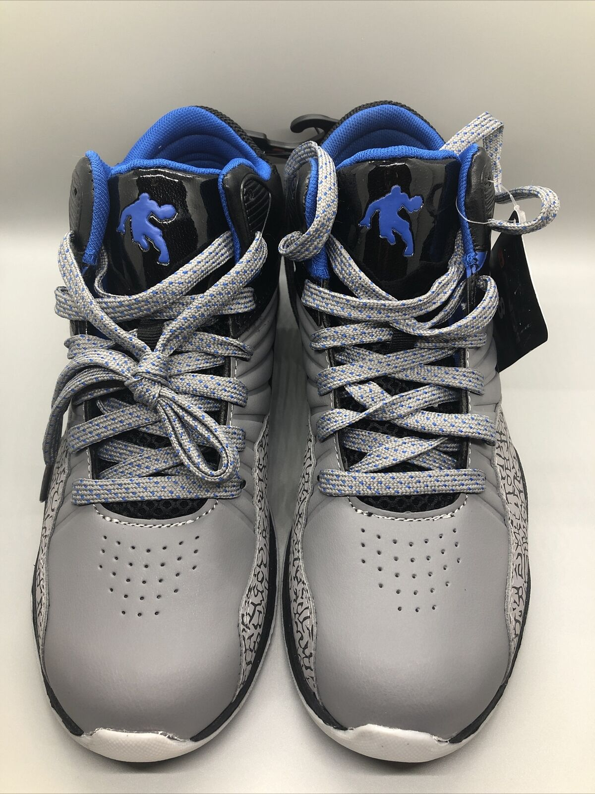 AND1 Men's Capital 4.0 Basketball Shoe Size 8,  New With Tags Blue And Grey on eBay thumbnail