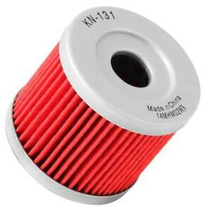 K-amp-N-NEW-Suzuki-Hyosung-1979-2015-Road-Bike-KN-131-Motorcycle-Oil-Filter