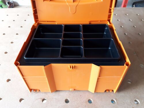 Huit compartiments empilable Insert pour Festool//Tanos Systainer