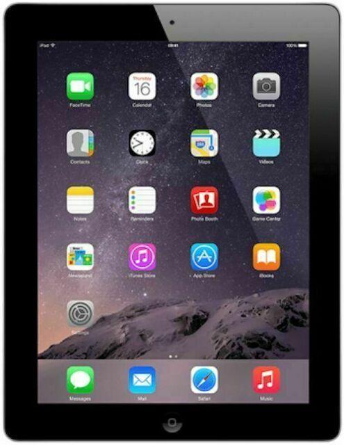 Apple iPad 2 16 Go, Wi-Fi, 9.7 in (environ 24.64 cm) - Noir - (MC769LL/A) - excessive rayer
