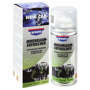 Presto-Klimaanlagenreiniger-Innenraumerfrischer-150ml-Dose-New-Car-Duft-408816