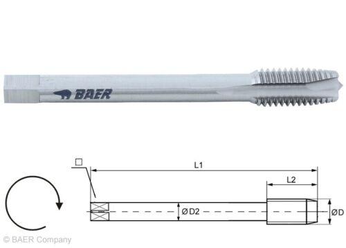 Gewindebohrer M2-M16 in HSS//HSSVA//TIN Maschinengewindebohrer Gewindeschneider