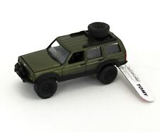 Johnny Lightning *DARK METALLIC GREEN* Jeep Cherokee 4x4 *ERTL COLLECTIBLES*