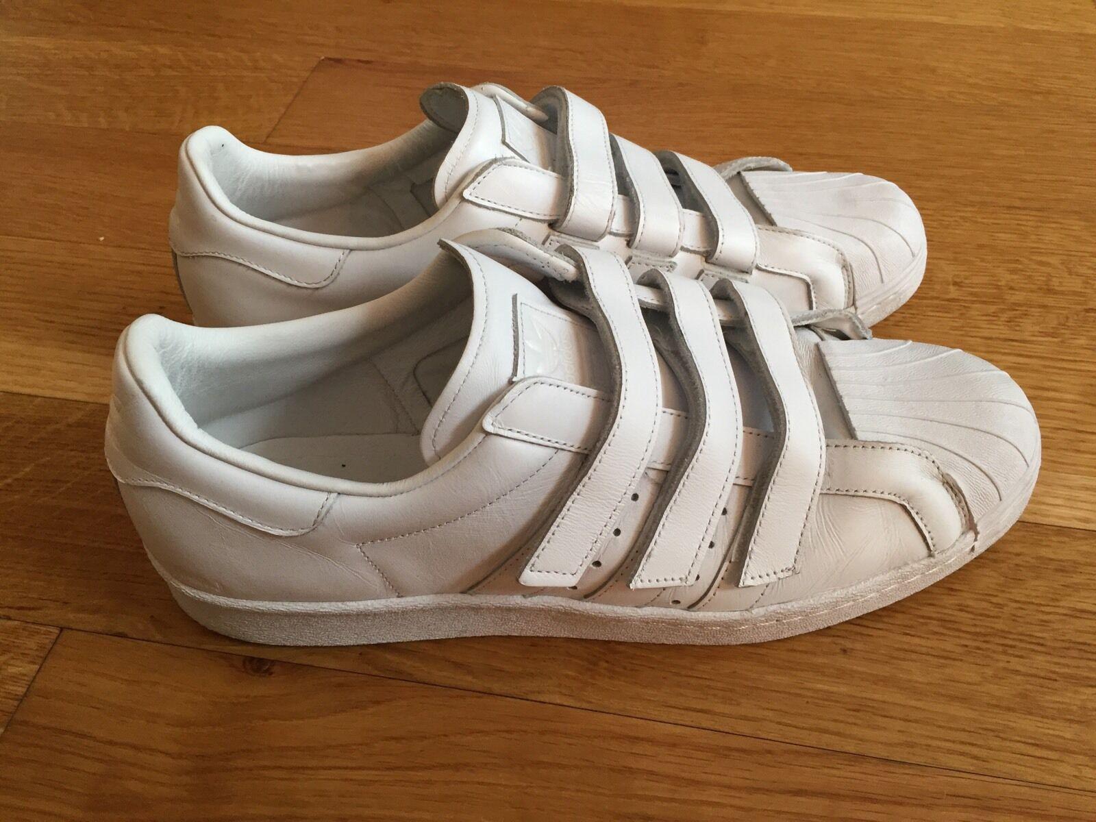 ADIDAS x Sneakers Juun J Blanco SUPERSTAR Shell Top Low Sneakers x US 12 340 299157