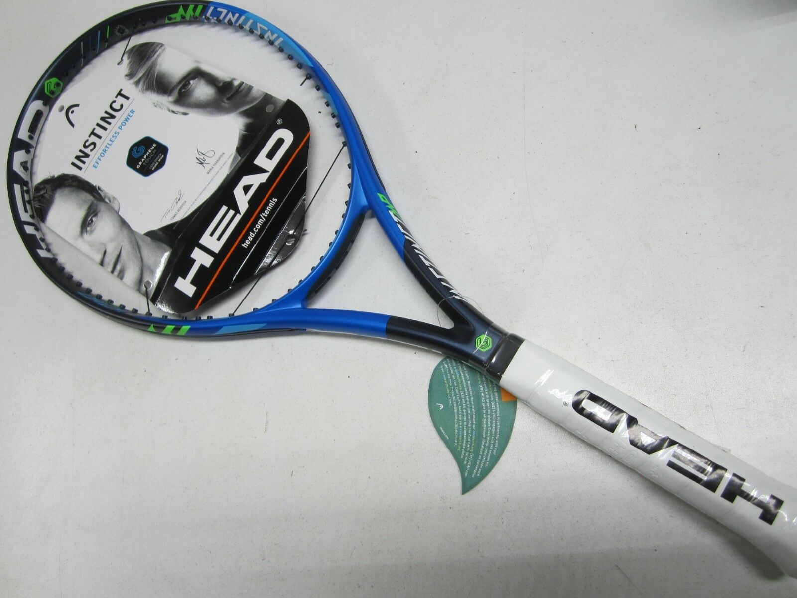 nuevo  Head Graphene Touch instinto  MP  tenis raqueta (4 3 8)