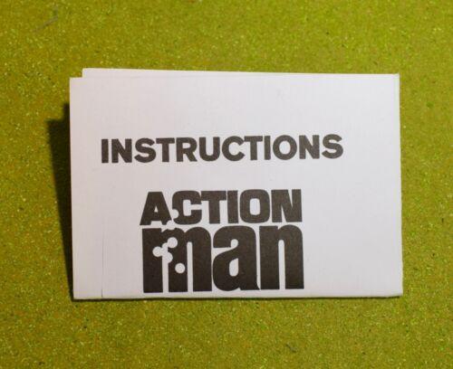 VINTAGE ACTION MAN 40th MANUAL LEAFLET INSTRUCTIONS 81-MM MORTAR FOLDED